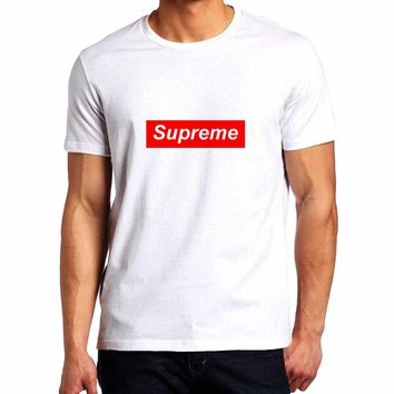 Supreme 1 Logo Man T-Shirt