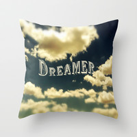 Dreamer Throw Pillow by Ann B.
