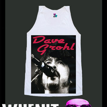 worldwide shipping just 7 days Dave Grohl shirt singlet tank top 10122