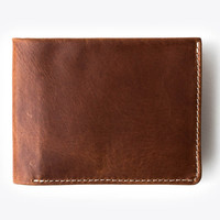 The Bifold Wallet - Tan