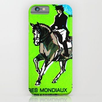 2014 FEI World Equestrian Games in Normandy DRESSAGE iPhone & iPod Case by lanjee