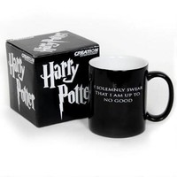 Harry Potter I Solemnly Swear...Mischief Managed Heat Transforming Mug - Preorder for Shipment 12/30/15 | HarryPotterShop.com