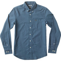 That'll Do Oxford Long Sleeve Shirt | RVCA