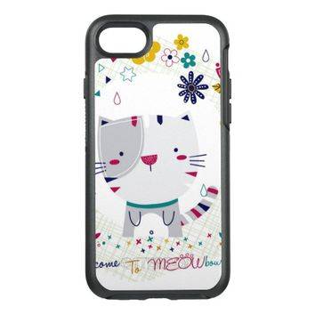 Cat Meow OtterBox Symmetry iPhone 8/7 Case