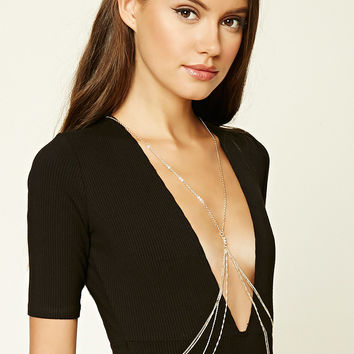Rhinestone Body Chain