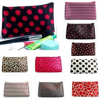 Multi-colors Fashion Women Travel Cosmetic Pouch Bag Casual Purse