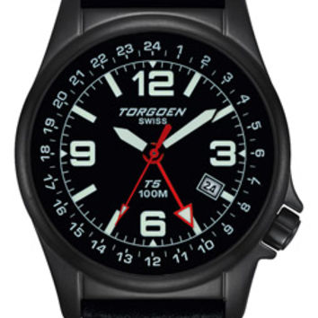 Torgoen T5 Zulu Time Pilot Watch T05104