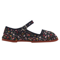 Printed Mary Jane Flat | Wet Seal
