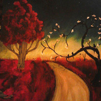 The dawning of tomorrow 16x20 Painting from Wild Ivy