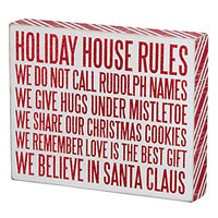 Primitives by Kathy Christmas Box Sign | Scheels