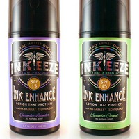 "Daily Moisturizer ""Ink Enhance SPF 15"" 3.3oz by INK-EEZE (More Options)"