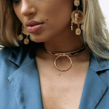 Statement Ring Choker - Accessories by Sabo Skirt