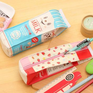 OCARDIAN Cute Cartoon School Bags Stationery Pencil Pen Case Cosmetic  Bag Zipper Pouch Case Juy4 Y25