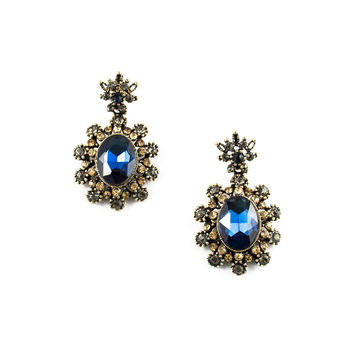 Crystal Heiress Drop Earrings