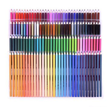 Nature wood color pencil for drawing 136 different colored pencils pack Stationery Office accessories School supplies