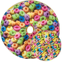 iScream Cereal Donut Frosted Cake Scented Pillow