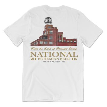 Brewer's Hill - National Bohemian Beer (White) / Shirt