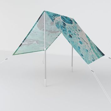 Seafoam Sun Shade by duckyb