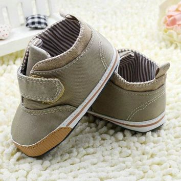 Baby Boy Velcro Canvas Shoes