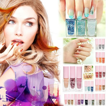Nail Gel Polish Art  Tricolor Magic Gradient  Series  Nail Kit  (3 pieces a set) = 1667477188