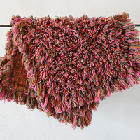 Pasture Wool Rug: Beige and Peach mix