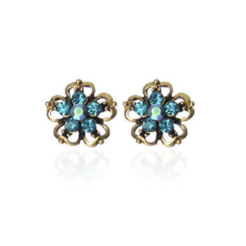 Gem From the Stem Studs in Turquoise