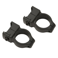 Z-2 Alloy Scope Rings - High (Black)