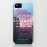 Travel iPhone & iPod Case by InfinityDesignCo.