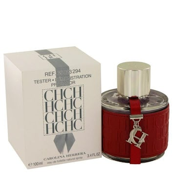 CH Carolina Herrera by Carolina Herrera Eau De Toilette Spray (Tester) 3.4 oz