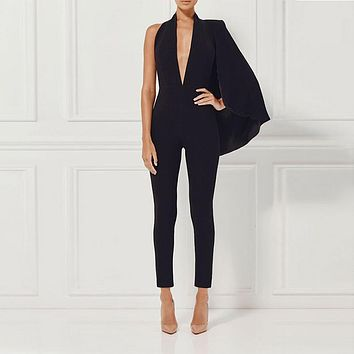 Timeless V Neck Jumpsuit