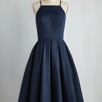 Beloved and Beyond Dress in Navy | Mod Retro Vintage Dresses | ModCloth.com