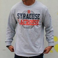 Lax Unlimited Syracuse Lacrosse Long Sleeve Tee | Lacrosse Unlimited
