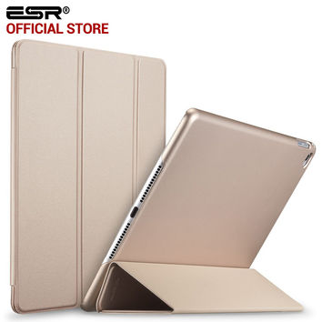 ESR Ultra Slim Fit Leather Smart Case Rubberized Back Magnet Cover for Apple iPad mini 4