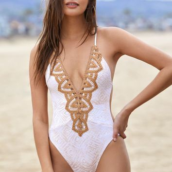 Blue Life Eclipse One Piece Swimsuit at PacSun.com