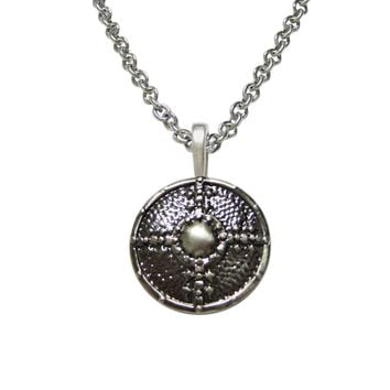 Medieval Shield Pendant Necklace