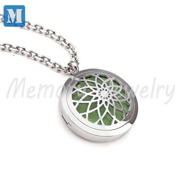 Aromatherapy Diffuser Pendant Necklace Locket Personal Wearable Aroma Diffuser For Essential Oils Young Living Newest Oil Locket