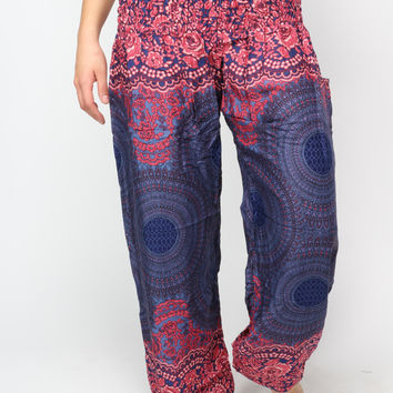 Violet Honey Hive Harem Pants