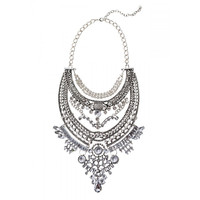 Galactic Crystal Statement Necklace