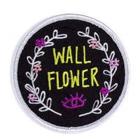 Wallflower Iron-On Patch