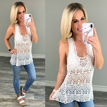 Favorite Crochet Top: Multiple Colors