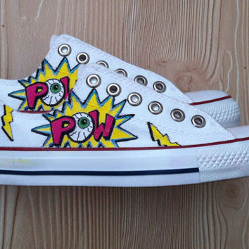 Pow Eyeball Shoes - Converse
