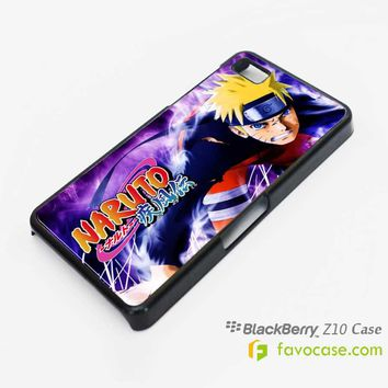 NARUTO SHIPPUDEN 1 Blackberry Z10 Q10 Case Cover