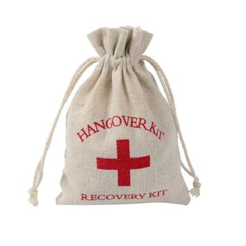 10Pc Hangover Kit Bags Wedding Gifts for Guests First Aid Kit Bag Gifts Packing Christmas Gift Bags Marriage Party Supplies-qw