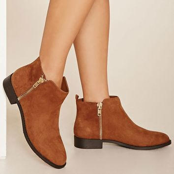 Zippered Ankle Booties