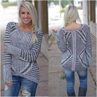 Chill Of Fall Sweater (Dex) - Piace Boutique