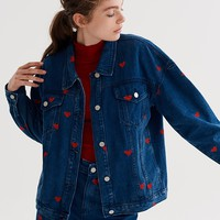 Lazy Oaf Denim Love Jacket