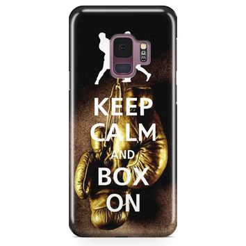 Keep Calm Wwe Boxing Gloves Samsung Galaxy S9 Plus Case | Casefantasy