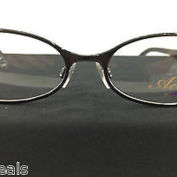 NEW AUTHENTIC TURA ACT II 2 MOD A106 COL C0A BLACK METAL ITALIAN EYEGLASSES