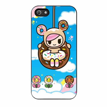 tokidoki donutella and friends cases for iphone se 5 5s 5c 4 4s 6 6s plus