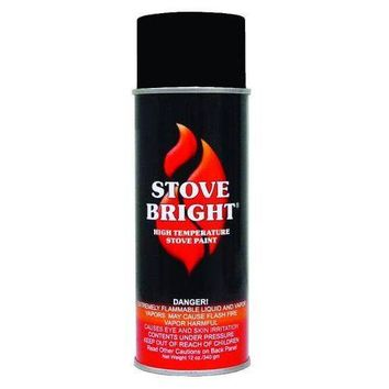 Stove Bright High Temperature Metallic Black Spray Paint